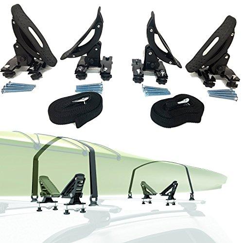 Car Rack Amp Carriers Universal Saddles Kayak Carrier Canoe